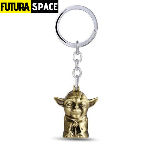 Spaceship K-2SO Falcon Keyrings - gold 1 - 200000174