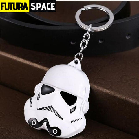 Spaceship K-2SO Falcon Keyrings - white - 200000174