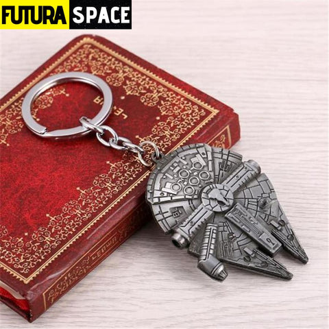 Spaceship K-2SO Falcon Keyrings - silver 2 - 200000174