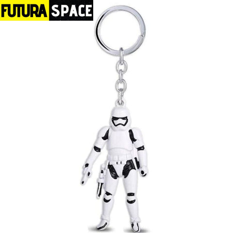 Spaceship K-2SO Falcon Keyrings - white 1 - 200000174