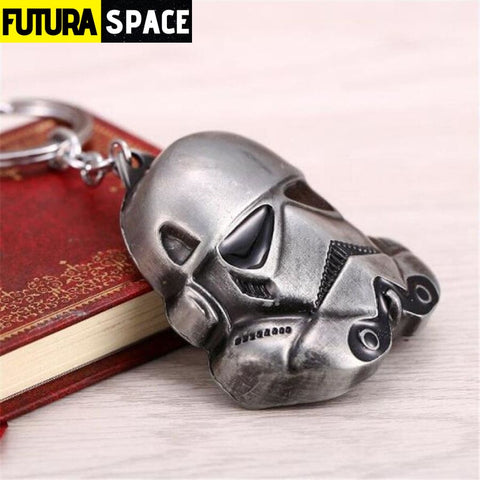 Spaceship K-2SO Falcon Keyrings - silver 1 - 200000174
