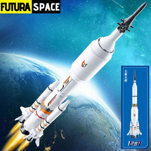SPACESHIP TOY - Rocket - XMJ-0735-N - 2622