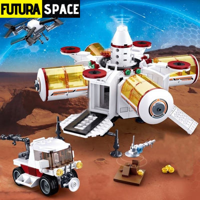 SPACESHIP TOY - Space Station - XMJ-0739-N - 2622
