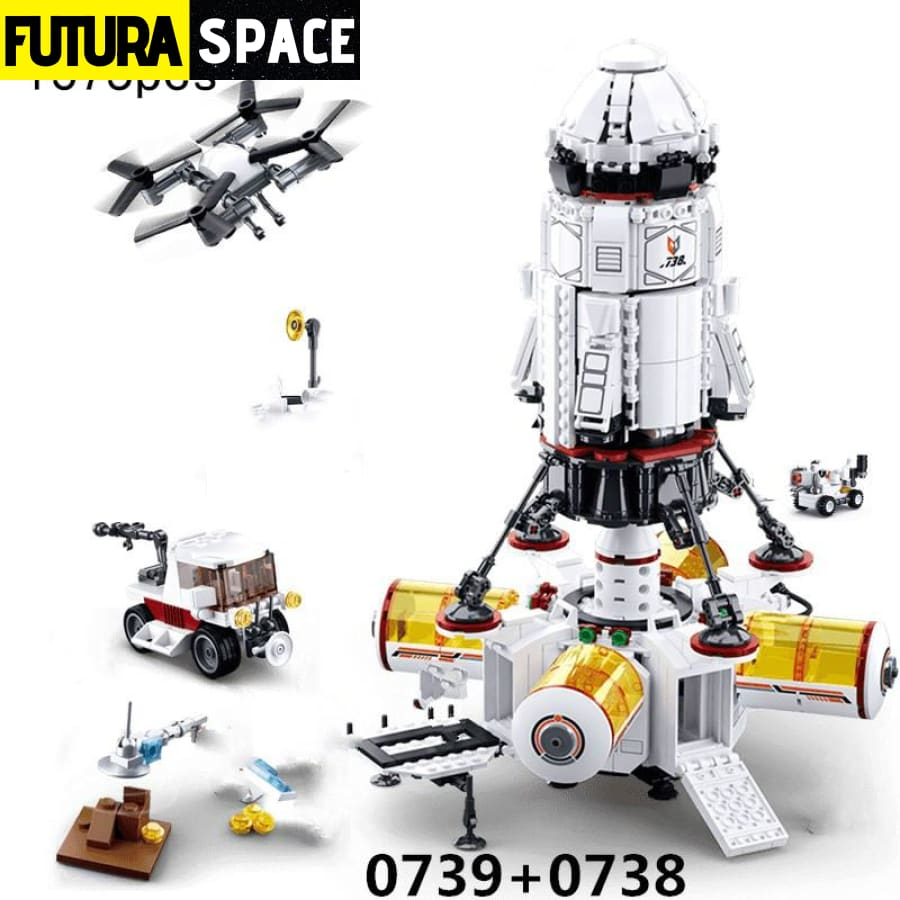 SPACESHIP TOY - Space Station - 2622