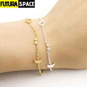 STAR AND MOON BRACELET (FOR WOMEN) - 200000147