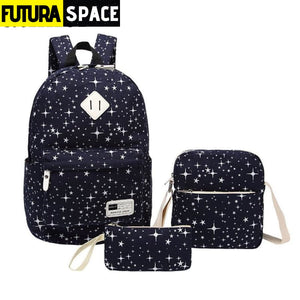 Star printed backpack for Women - 152401