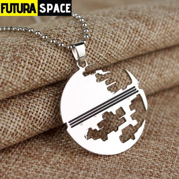 STAR TREK PENDANT - silver plated - 200000162