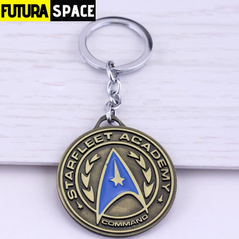 STAR TREKS KEYCHAIN - antique bronze 1 - 200000174
