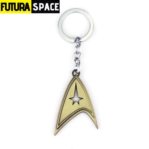 STAR TREKS KEYCHAIN - antique bronze - 200000174