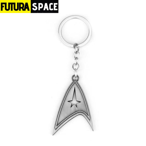 STAR TREKS KEYCHAIN - antique silver - 200000174