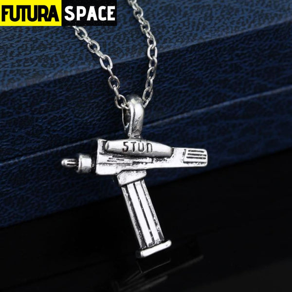 STAR TREKS WAR NECKLACE - antique silver - 200000162