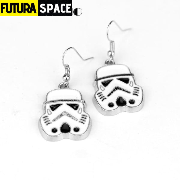 Star War Earrings for Women Darth Vader - A - 200000168