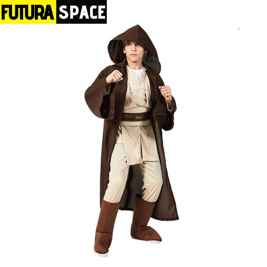 STAR WARS COSTUME - Deluxe Jedi for kids - Jedi Warrior / S