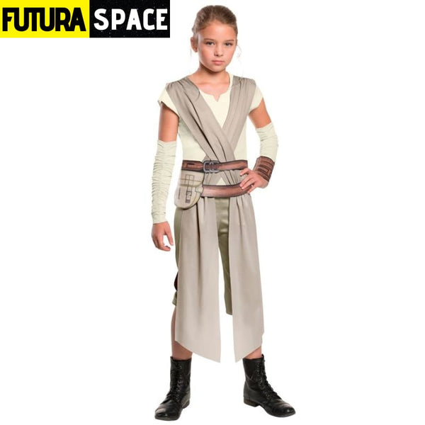 STAR WARS COSTUME - Rey Fancy Dress - 200003989