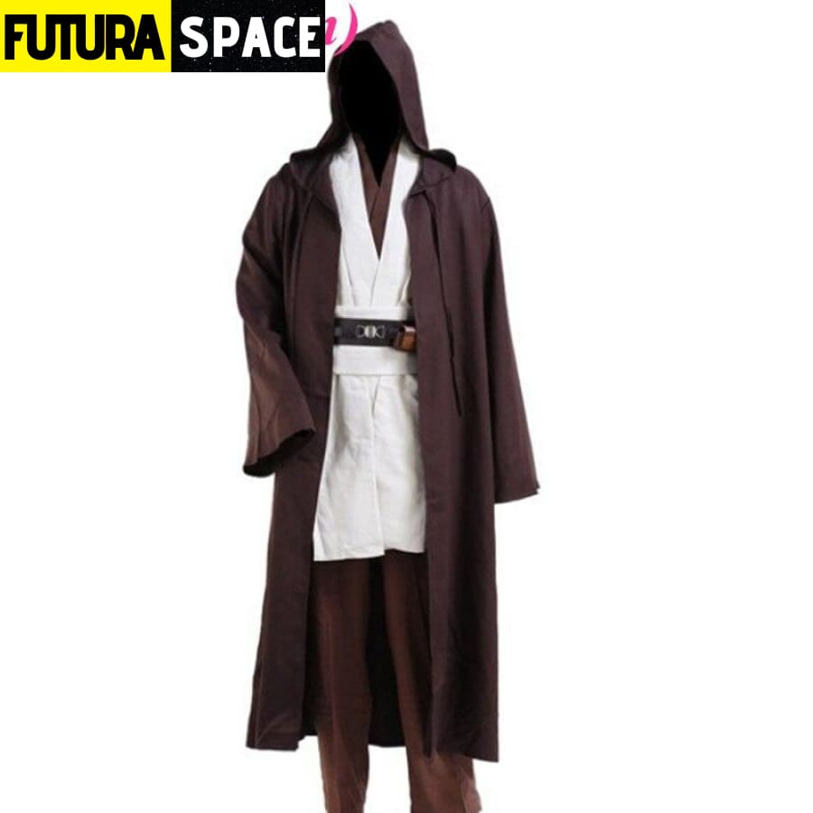 Star Wars Jedi Costume - Brown / XS - 200003989