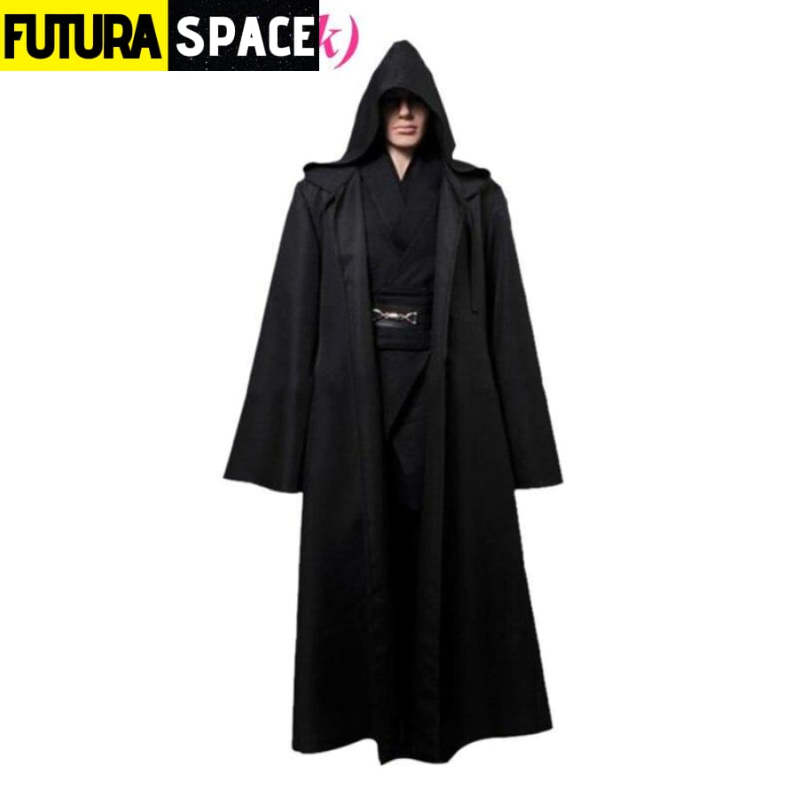 Star Wars Jedi Costume - Black / XS - 200003989