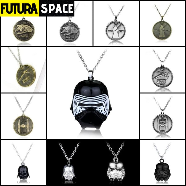 STAR WARS NECKLACE - SPACESHIP - 200000162
