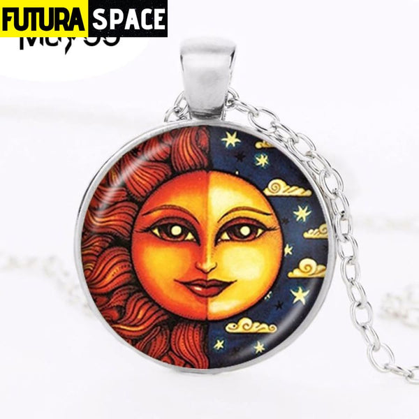 SUN & MOON NECKLACE - 200000162