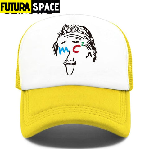 TRUCKER SPACE CAP - Yellow / Fits 52to55cm Head - 200000403