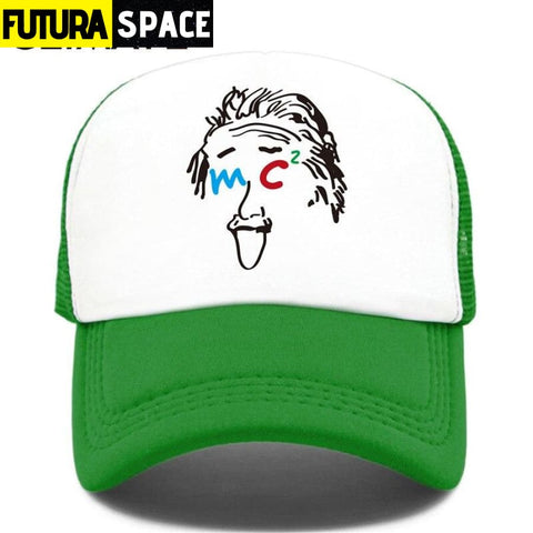 TRUCKER SPACE CAP - Green / Fits 52to55cm Head - 200000403