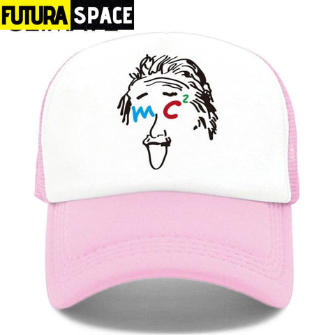 TRUCKER SPACE CAP - Pink / Fits 52to55cm Head - 200000403