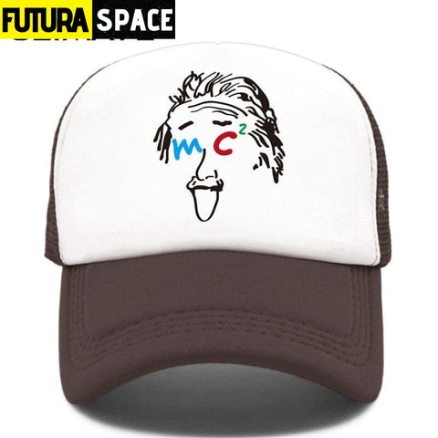 TRUCKER SPACE CAP - Coffee / Fits 52to55cm Head - 200000403