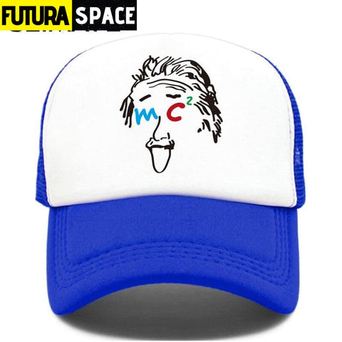 TRUCKER SPACE CAP - Blue / Fits 52to55cm Head - 200000403