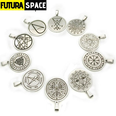 UFO RESEARCH NECKLACE - SS-0111 - 200000162