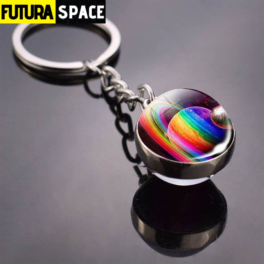 Univers Planet Keychain