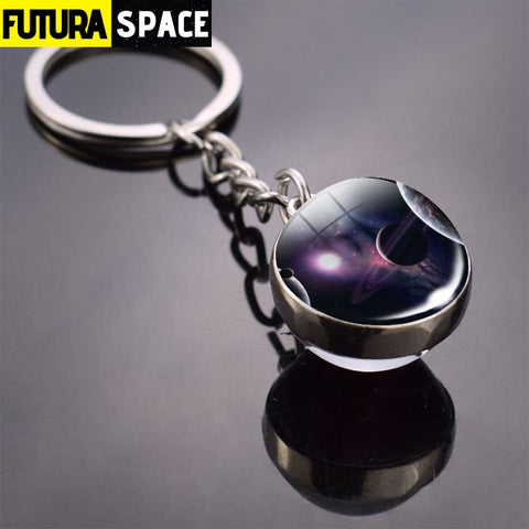 Univers Planet Keychain - Pink - 200000174