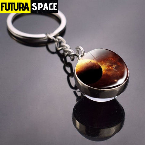 Univers Planet Keychain - Gray - 200000174