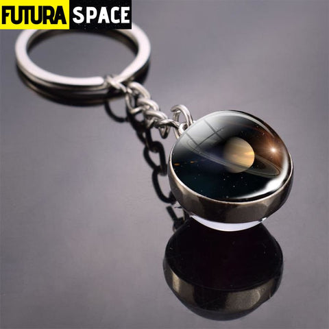 Univers Planet Keychain - Green - 200000174