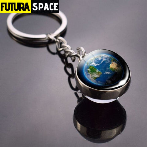 Univers Planet Keychain - Red - 200000174