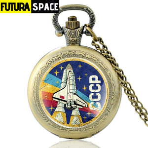 Vintage Space Pocket Watch - 200000126