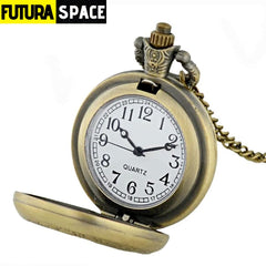 Vintage Space Pocket Watch