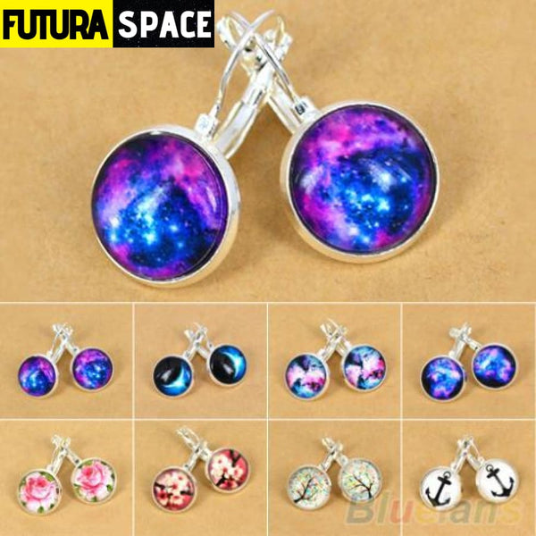 WOMEN'S GALAXY EARRINGS - 200000168