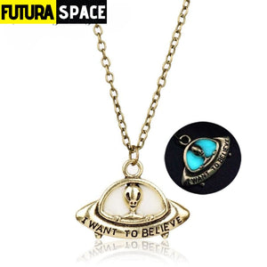 X FILES SPACE NECKLACE - A-731 - 200000162