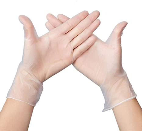 Disposable Vinyl Gloves - 1000 count