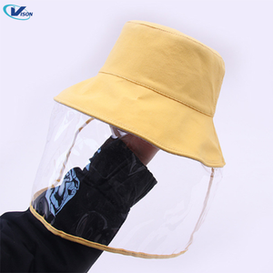 Kids Fisherman Hat with Face Shield