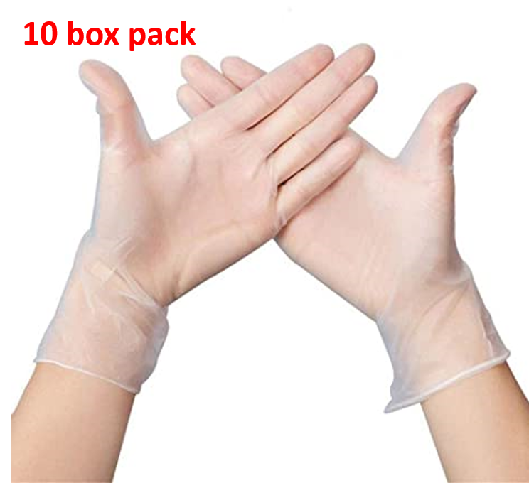 Disposable Vinyl Gloves Bulk - 1000 count