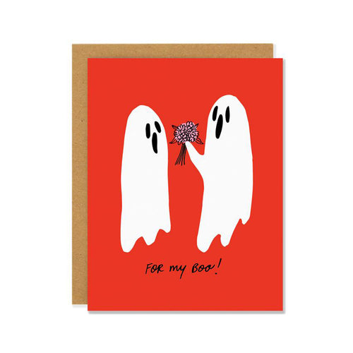 FOR MY BOO GHOSTS CARD