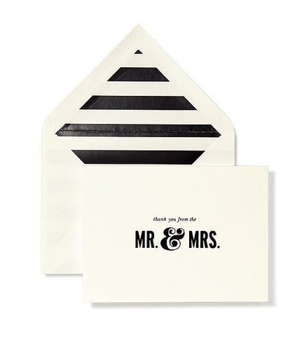 MR & MRS CARD SET