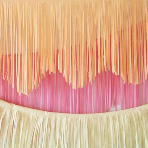 REUSABLE FRINGE GARLAND