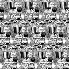 Load image into Gallery viewer, B&W SNACKS GIFT WRAP ROLL