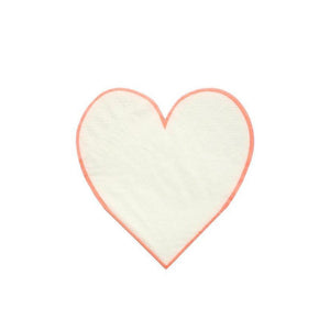 HEART OUTLINE NAPKINS