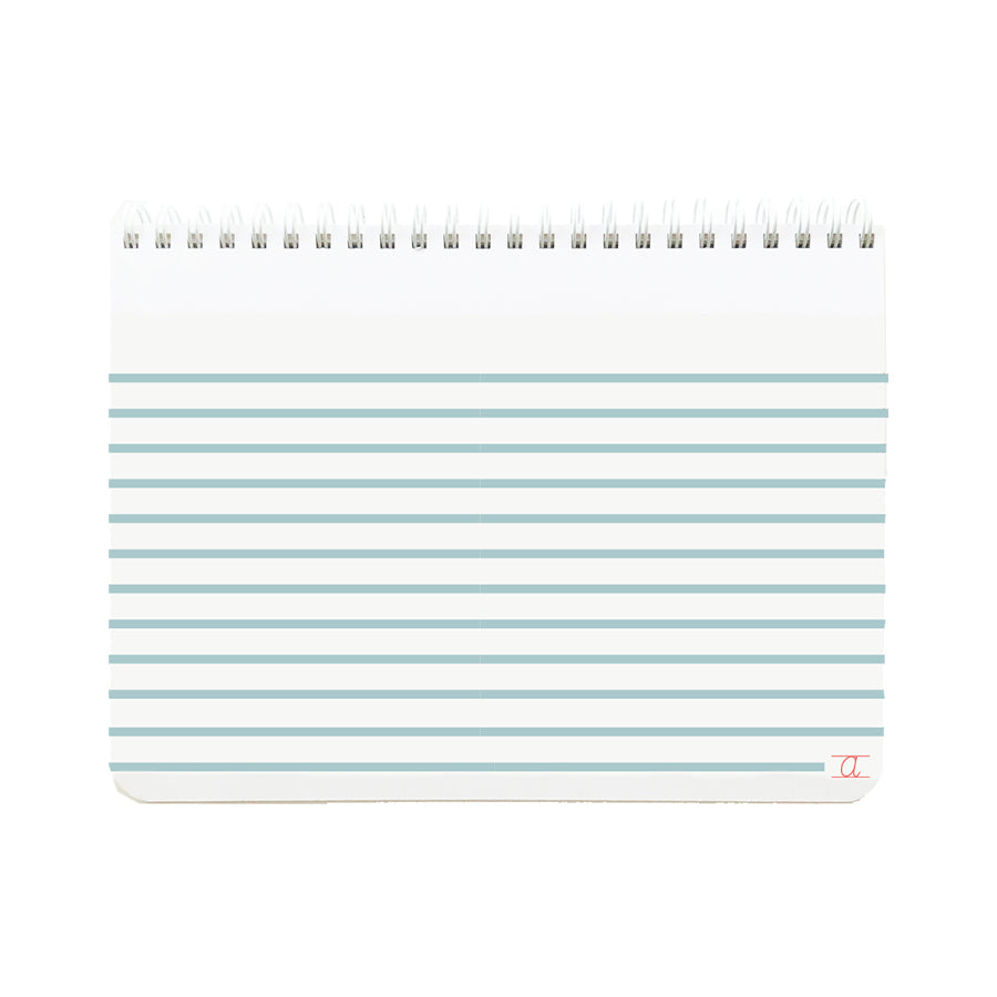 KIDS STRIPED BLUE NOTEBOOK