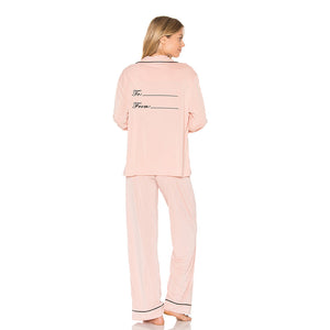 FROM ME TO YOU PINK PAJAMA SET