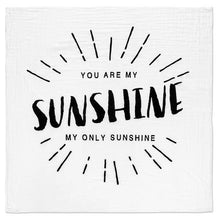 Load image into Gallery viewer, YOU ARE MY SUNSHINE SWADDLE