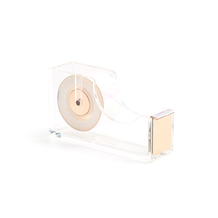 ACRYLIC GOLD TAPE DISPENSER