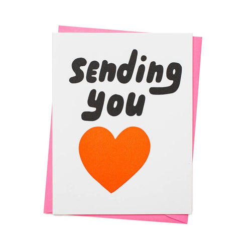 SENDING YOU HEART CARD